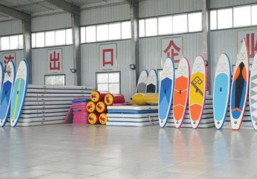 充气体操垫是专业的防护垫_瑜伽垫